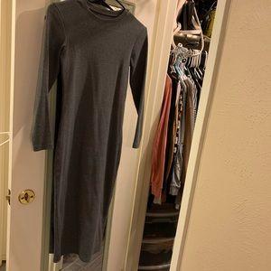 Dresses & Skirts - Long sleeve bodycon midi